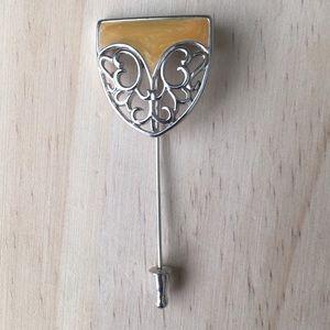 Vintage Monet Lapel Pin